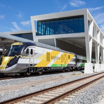 Brightline West Palm station is within walking distance from the PBCCC