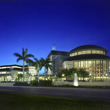 Kravis Center for the Performing Art is located directly across Okeechobee Blvd