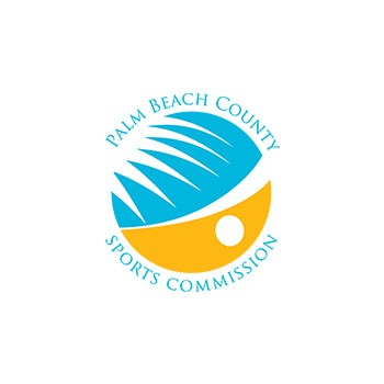 Palm beach county sports commission logo